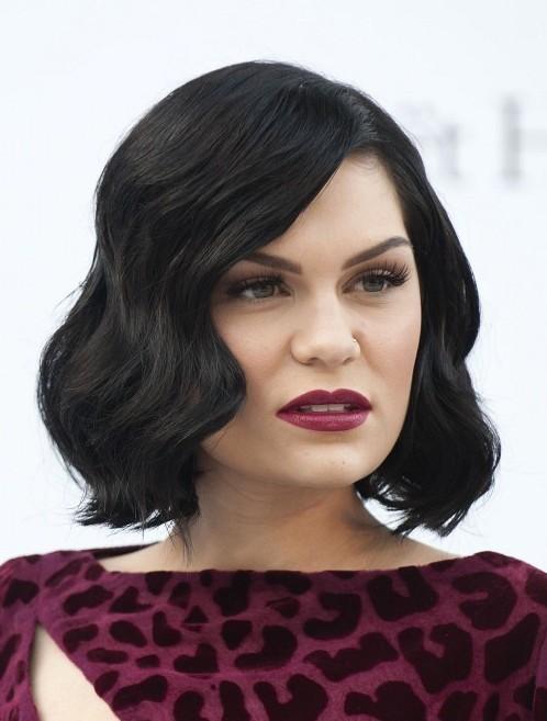 Astonishing Jessie J Hairstyles Short Black Wavy Bob Hairstyle For Women Hairstyles For Men Maxibearus