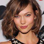 Karlie Kloss Cute Short Bob Hairstyle