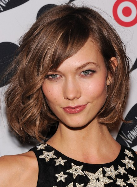 Karlie Kloss Cute Short Bob Hairstyle