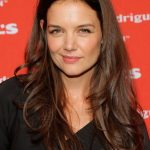 Katie Holmes Long Layered Wavy Hairstyles