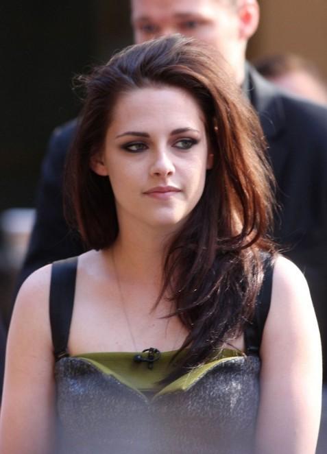 Kristen Stewart Long Ombre Hairstyles