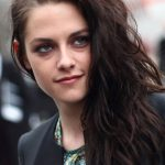 Kristen Stewart Long Side Swept Wavy Hairstyle