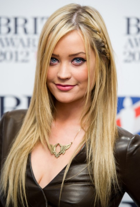 Trends laura whitmore cute long braided hairstyle getty images