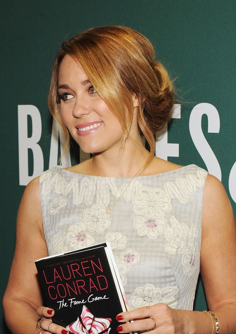 Lauren Conrad Hairstyle Cute Low Bun Updo For Summer Hairstyles