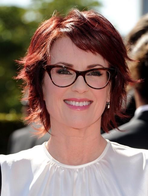 Brilliant Megan Mullally Layered Short Red Haircut Hairstyles Weekly Short Hairstyles Gunalazisus