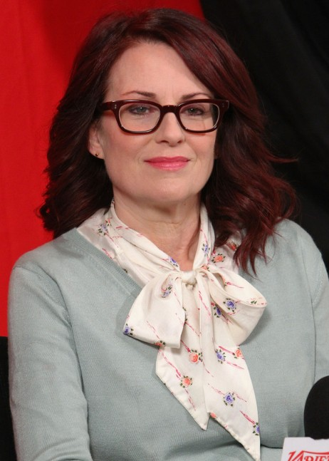 Megan Mullally Shoulder Length Hairstyle for Women Over 50 /Getty Images