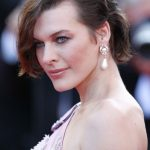Milla Jovovich Short Bob Haircut