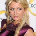 Paris Hilton Half Up Half Down Hairstyles