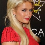 Paris Hilton Layered Long Blonde Hairstyles