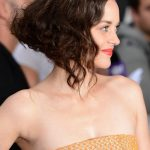 Side View of Marion Cotillard Bob Hairstyle