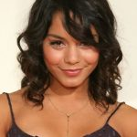 Vanessa Hudgens Cute Shoulder Length Hairstyles