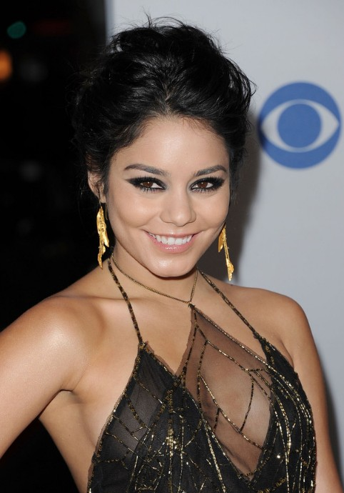 Vanessa Hudgens Homecoming Updo Hairstyles