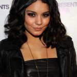 Vanessa Hudgens Medium Black Hairstyles