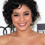 Vanessa Hudgens Short Curly Bob Hairstyle