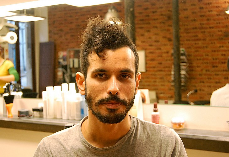 Awesome Short Curly Haircut For Men Long Buzz Cut With Hawk Top Short Hairstyles For Black Women Fulllsitofus