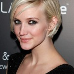 Ashlee Simpson Short Graduated Bob Haircut