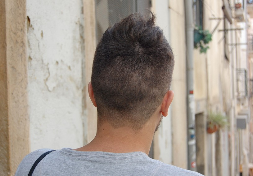 Ultra-Cool & Unique - Asymmetric Men's Short Cut - Hairstyles Weekly