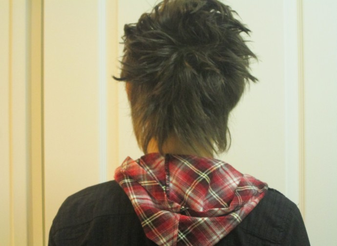 Back View of Cool Hairstyles for Guys