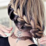 Beautiful French Braid Hair Style