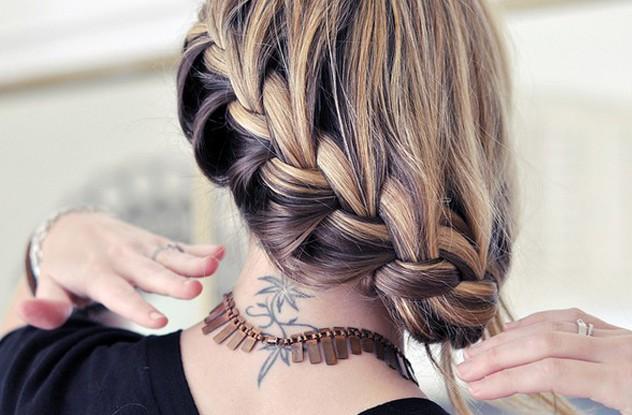 Beautiful French Braid Hair Style