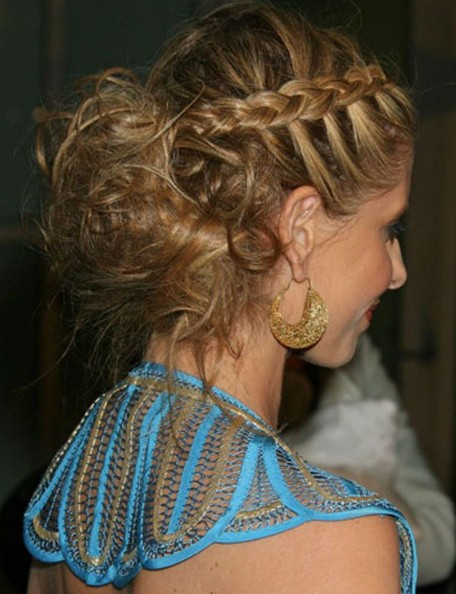 Celebrity French Braid Hairstyles