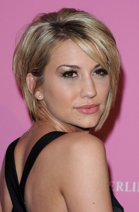 Chelsea Kane Sultry Bob: Sexy Layered Short Graduated Bob Haircut