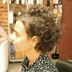 Curly Hairstyle for Older Women