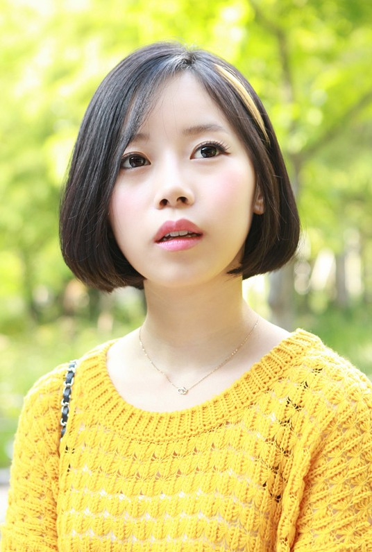 Cute A-line Bob Hairstyle for Spring