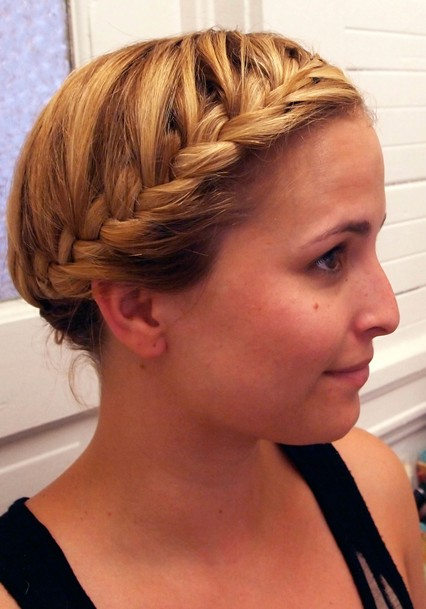 Cute French Braid Hairstyle