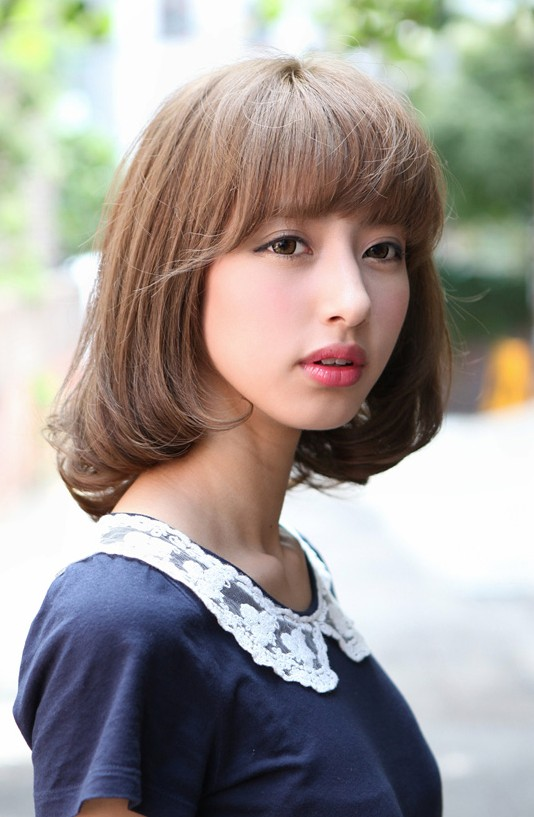 japanese hairstyles male : Cute Japanese Bob Hairstyle for Girls - Hairstyles Weekly
