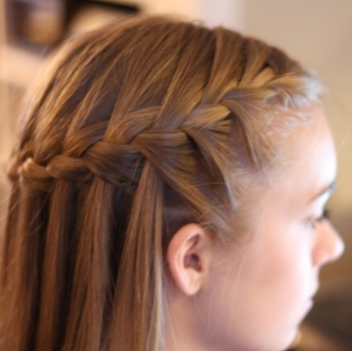 Cute Twist Braided Hairstyle