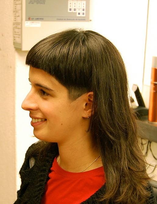 Brilliant Dramatic Long And Short Haircut With Bangs Hairstyles Weekly Short Hairstyles Gunalazisus