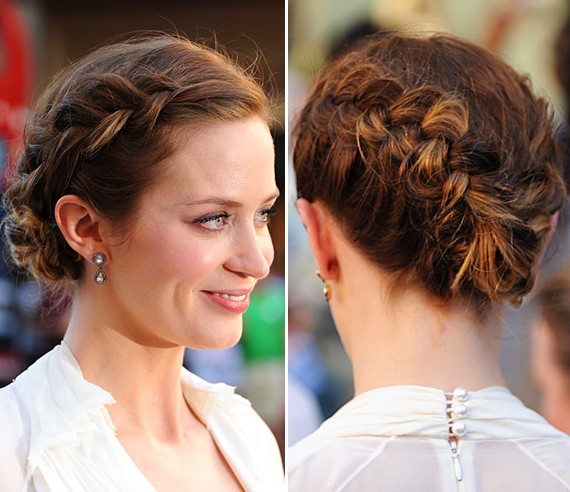 French Twist Braid Hairstyle