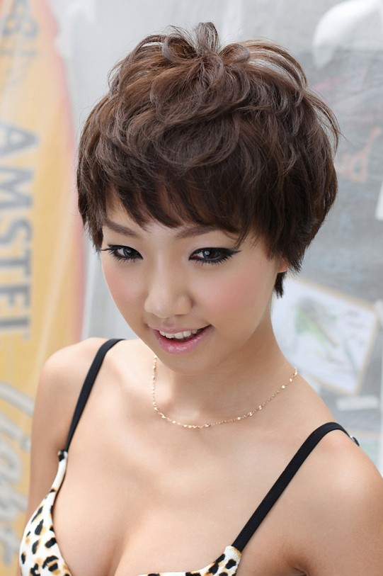 Hot Japanese Girl - Cute Short Pixie Cut for Young Ladies