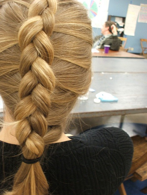 Astounding How To Inside Out French Braid Bangs Braids Hairstyle Inspiration Daily Dogsangcom