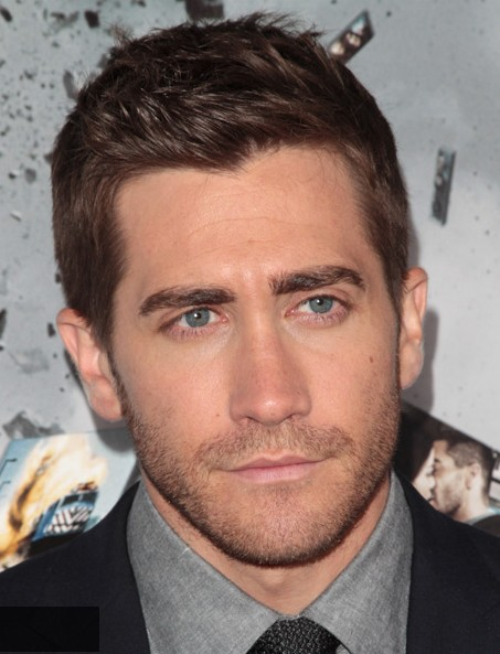 Jake Gyllenhaal Haircut Casual Short Spiked Hair Style For Men