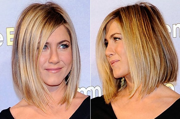 Jennifer Aniston Layered Medium Hairstyle
