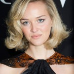 Jess Weixler Hairstyles: Short Curly Blonde Bob Hairstyle 2013