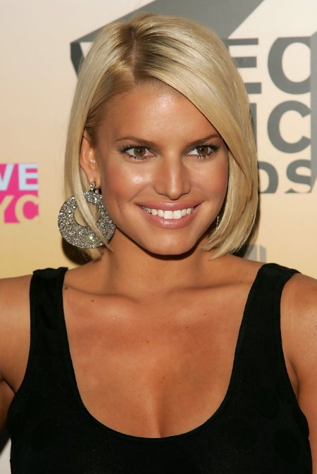 Picture of Jessica Simpson Short Bob Hairstyle /Getty Images