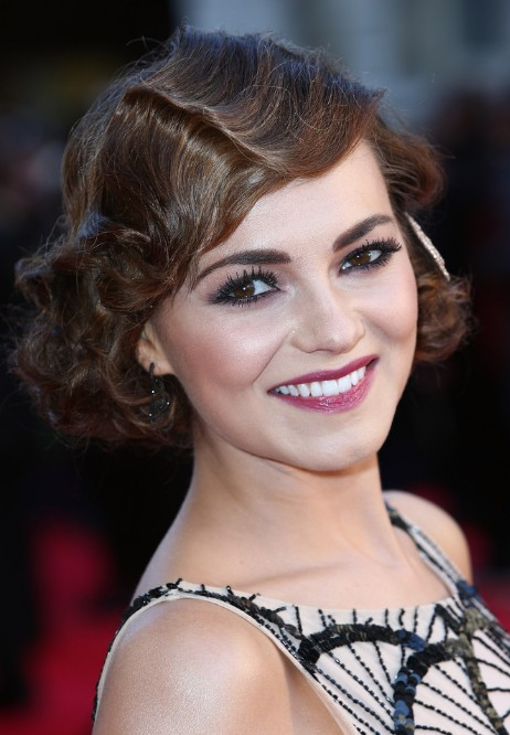 Kara Tointon Finger Wave Hairstyle