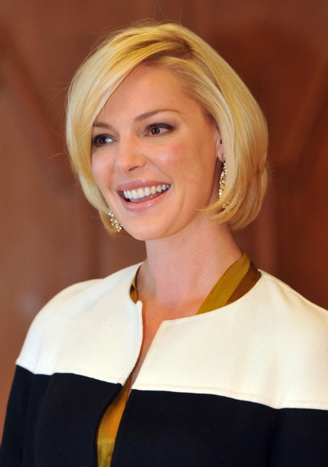 Katherine Heigl Short Haircut Lovely Bob Hairstyle