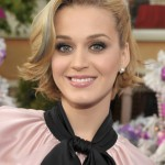 Katy Perry Short Blonde Bob Hairstyle
