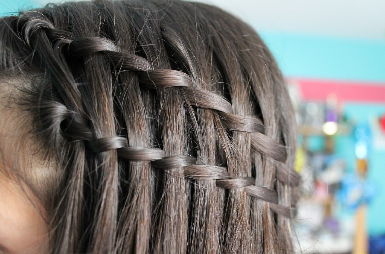 Kawaii Waterfall Braid