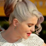 Kelly Osbourne High Wrapped Loose Ponytail