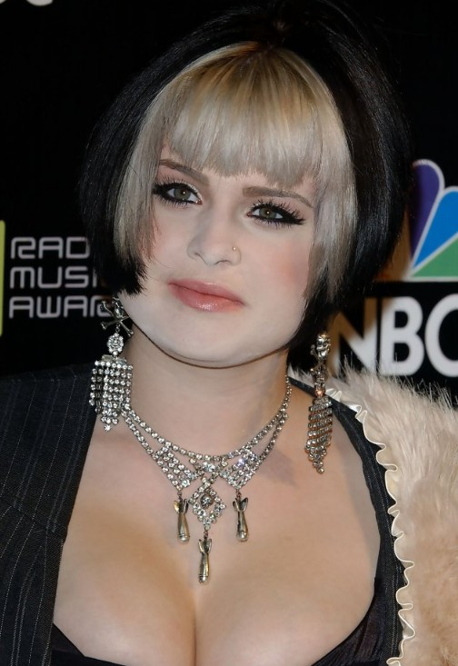 Kelly Osbourne Hairstyle: Inverted Bob - Hairstyles Weekly