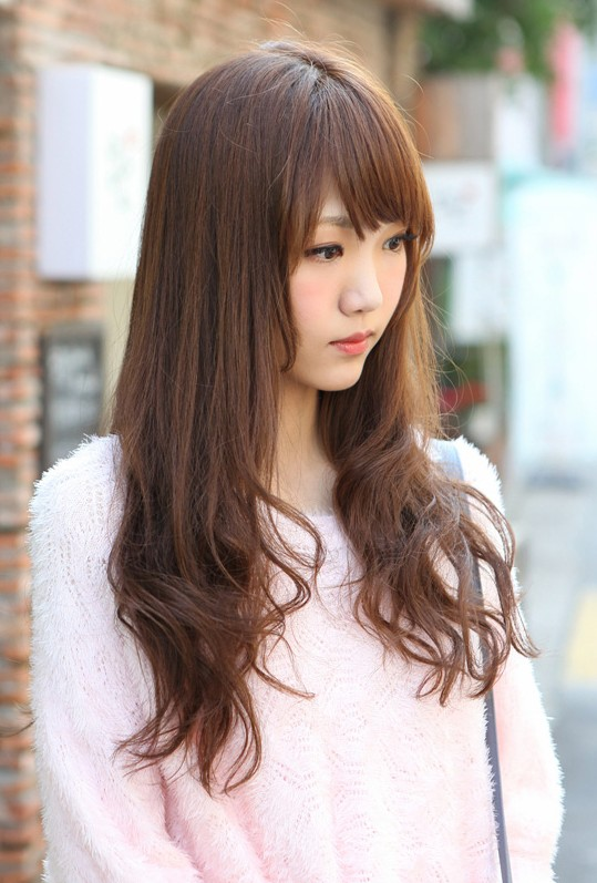 Korean Long Hairstyle 2013