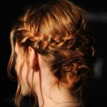 Kristen Stewart Cute Loose Braided Bun