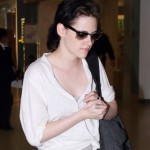 Kristen Stewart Low Loose Ponytail Hairstyle