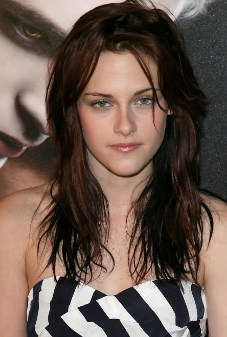 Astonishing Kristen Stewart Messy Long Wavy Hairstyle Hairstyles Weekly Hairstyle Inspiration Daily Dogsangcom