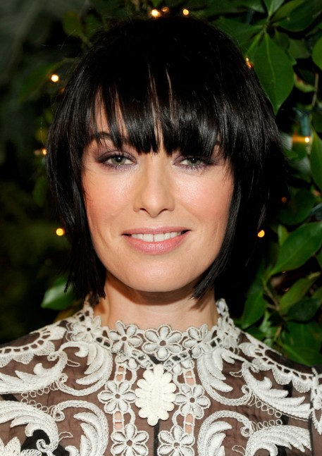 Remarkable Lena Headey Hairstyle Choppy Layered Short Black Bob Hairstyle Short Hairstyles For Black Women Fulllsitofus